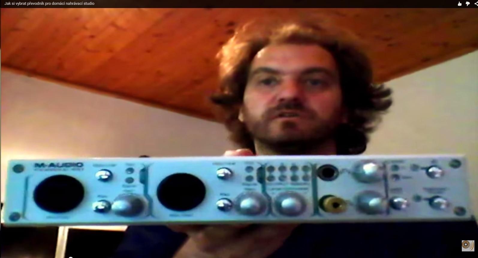 Jak si vybrat převodník pro domácí nahrávací studio? (Video)