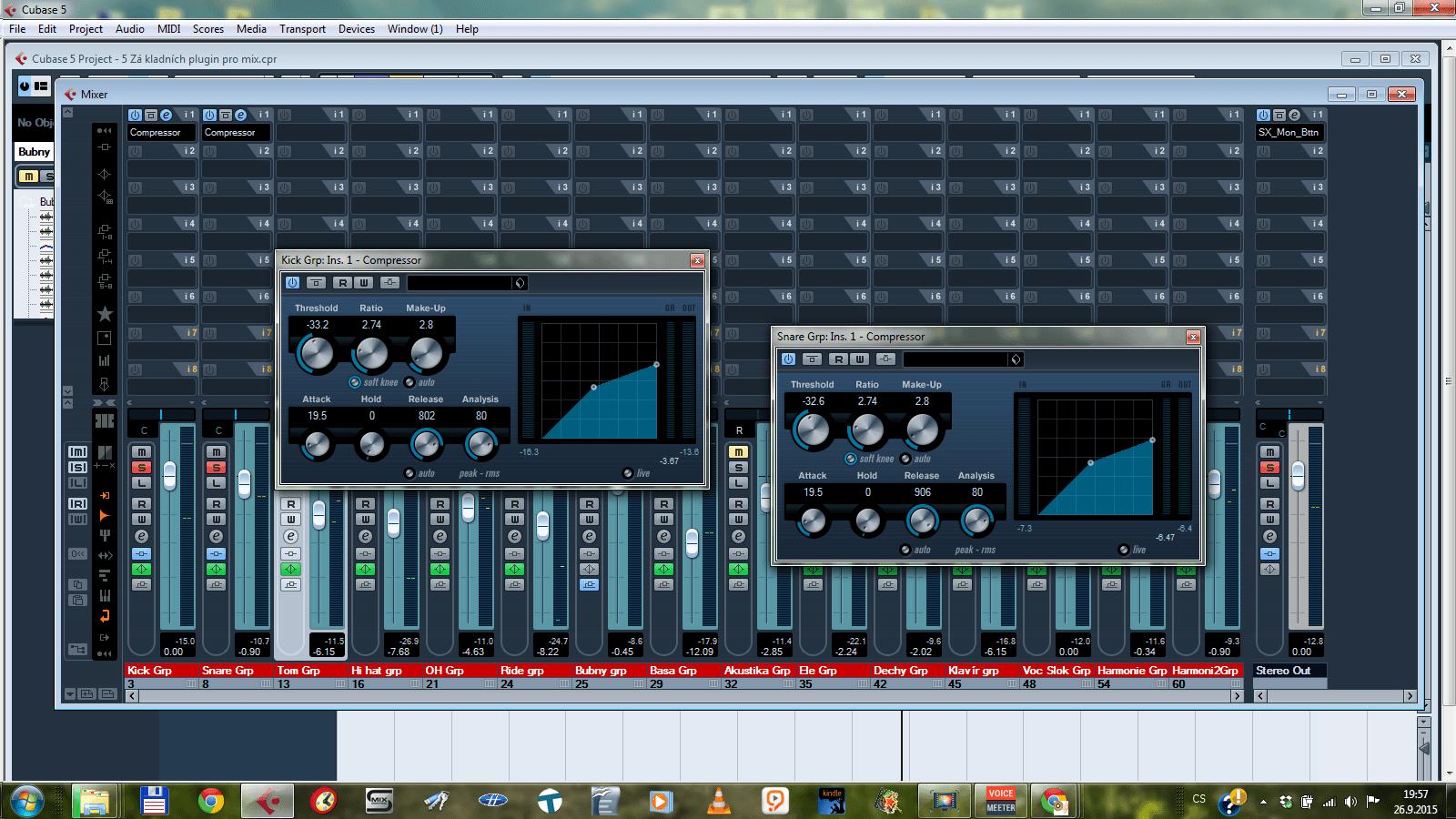 5 základních plugin pro mix – 2. Kompresor (Video)