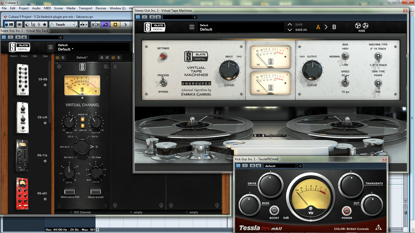 5 základních plugin pro mix – 5. Saturace (Video)