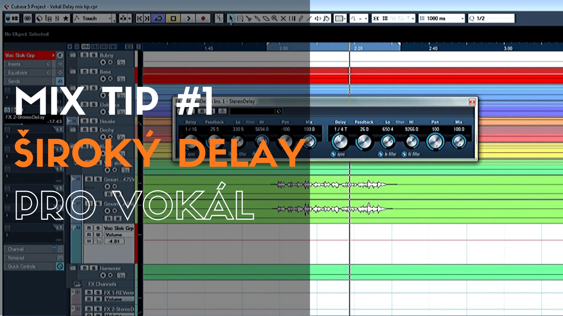 MixTip #1 – Široký dealy pro vokál