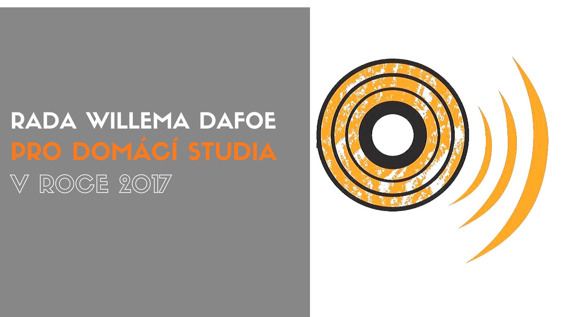 Rada Willema Dafoe pro domácí studia v novém roce 2017
