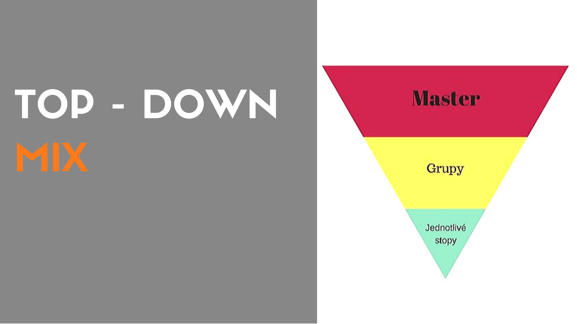 Top – Down Mix