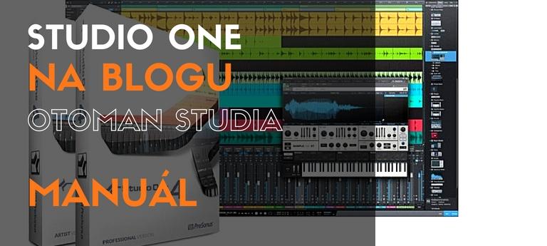 Studio One – Manuál