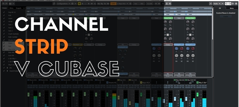 Channel Strip v Cubase