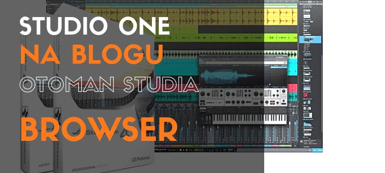 Studio One – Browser