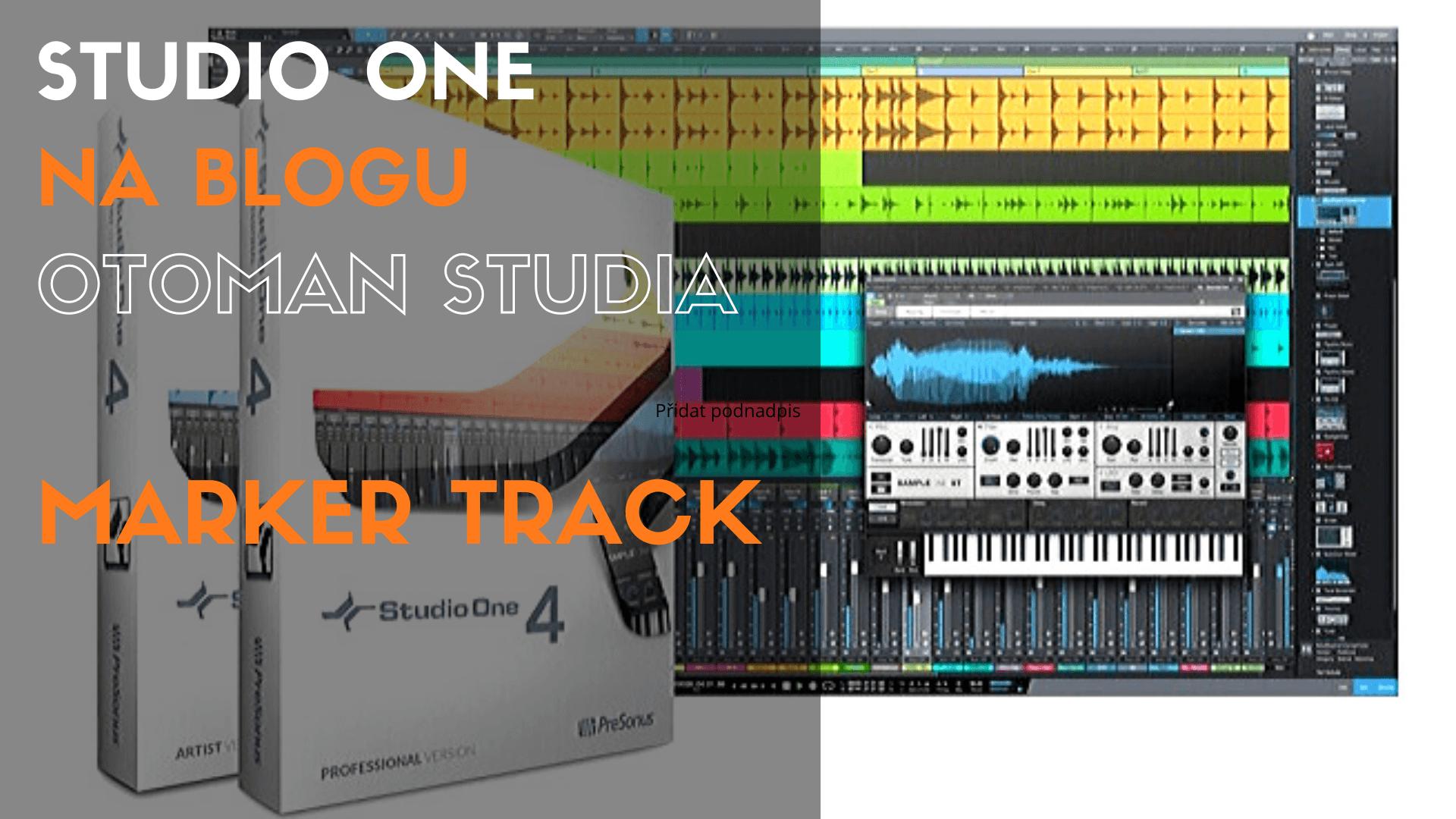 Studio One – Marker Track