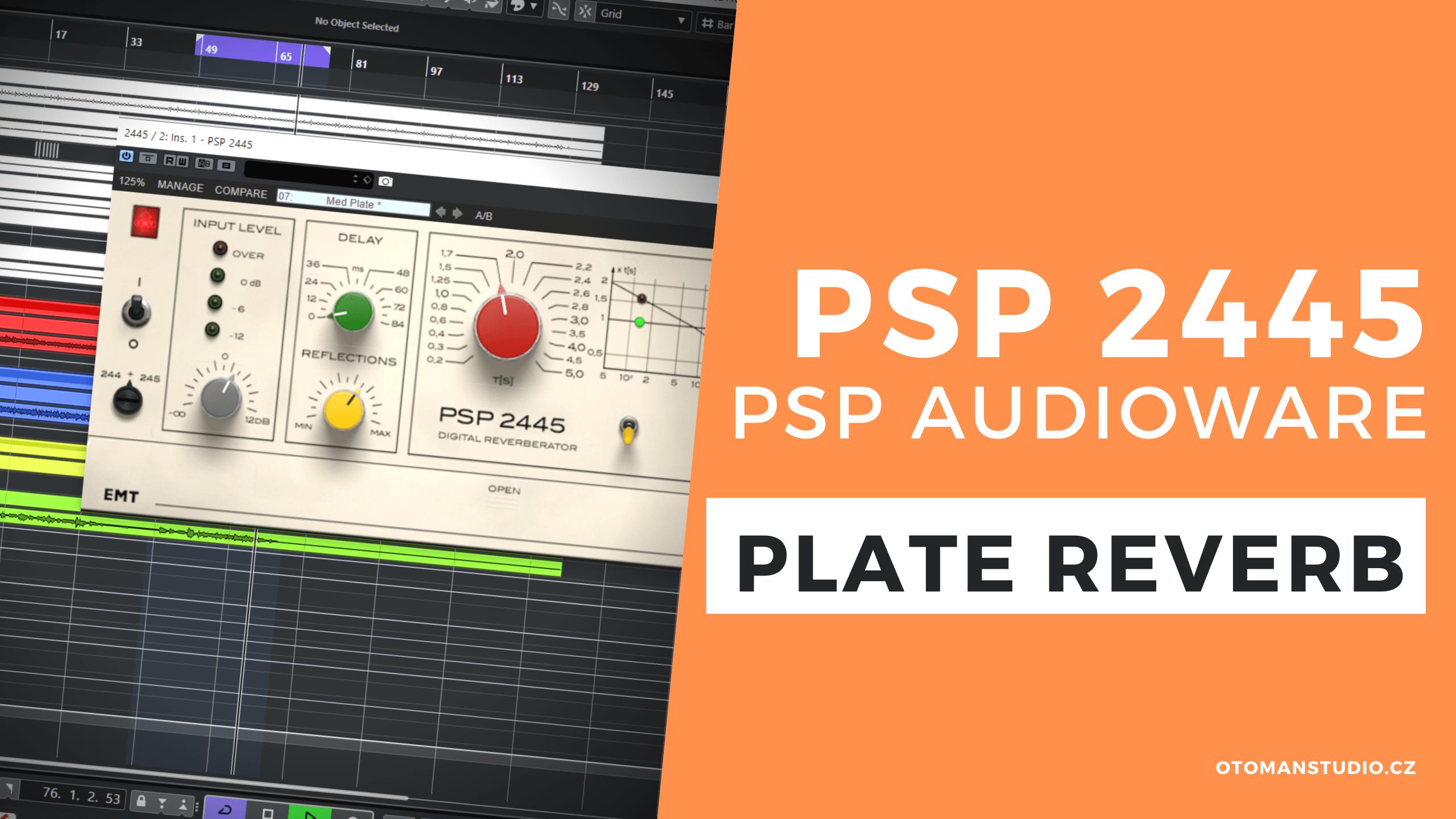 PSP 2445 – PSP AUDIOWARE – Plate Reverb