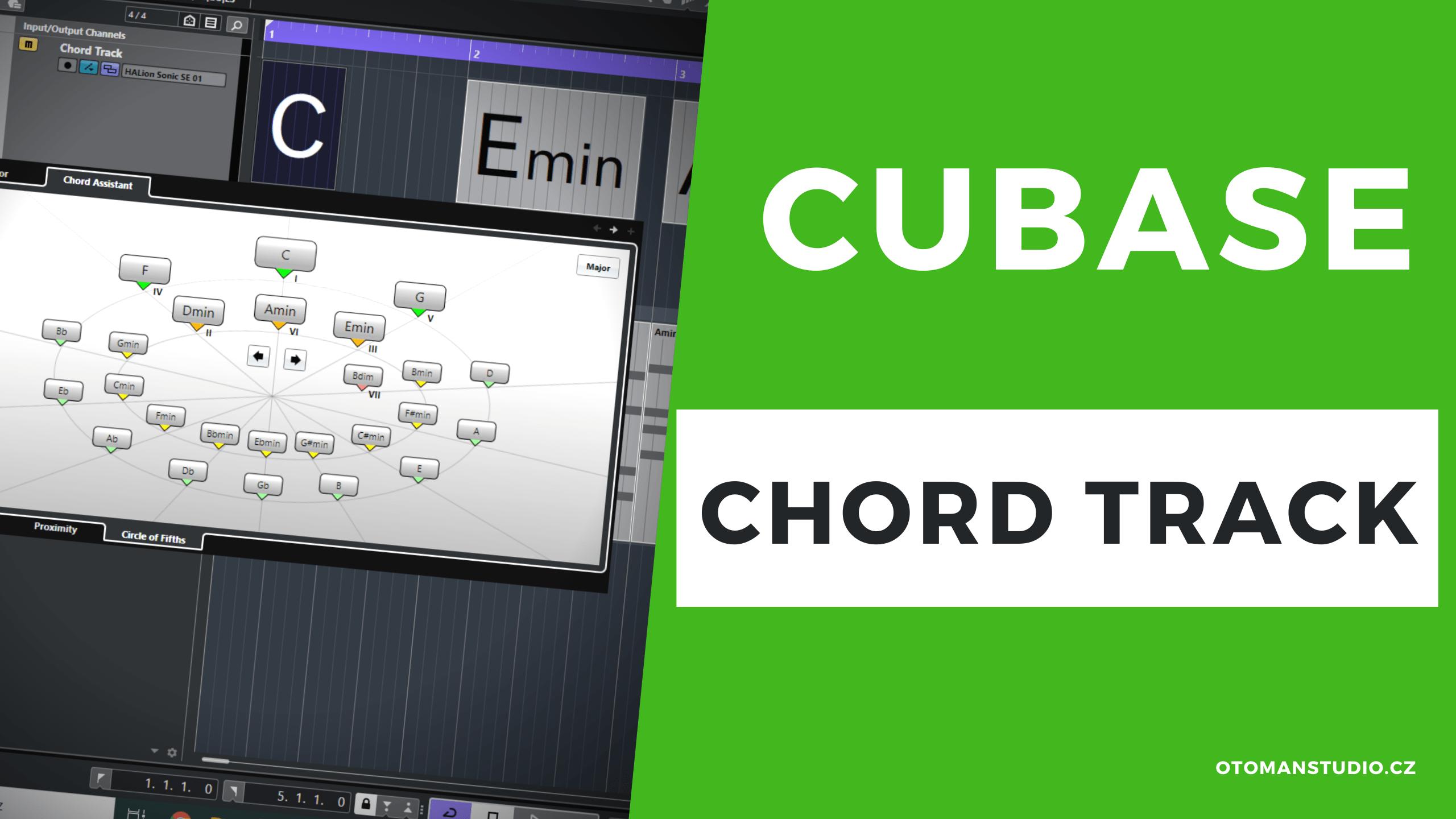 Cubase – CHORD Track